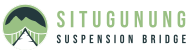 Situ Gunung Suspension Bridge Logo